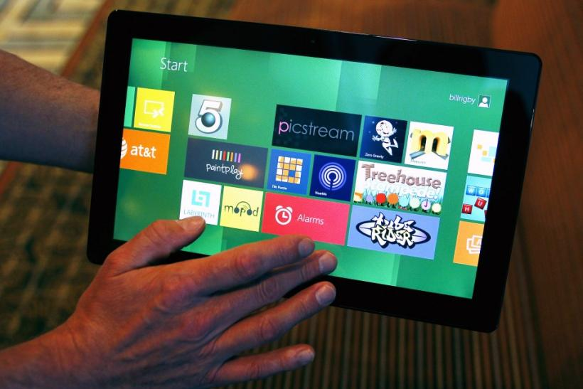 Windows 8 Tablet vs. iPad 2: 'User Experience is Fundamentally Different'