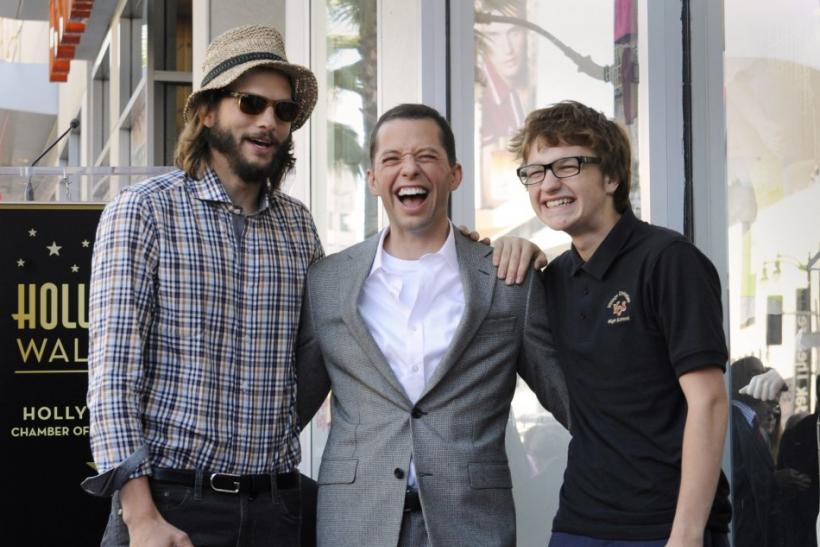 Ashton Kutcher, Jon Cryer, Angus T. Jones