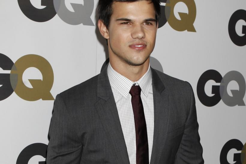 Not taylor lautner gq cover