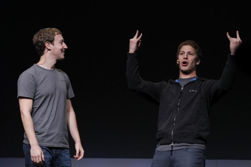 Mark Zuckerberg, Andy Samberg