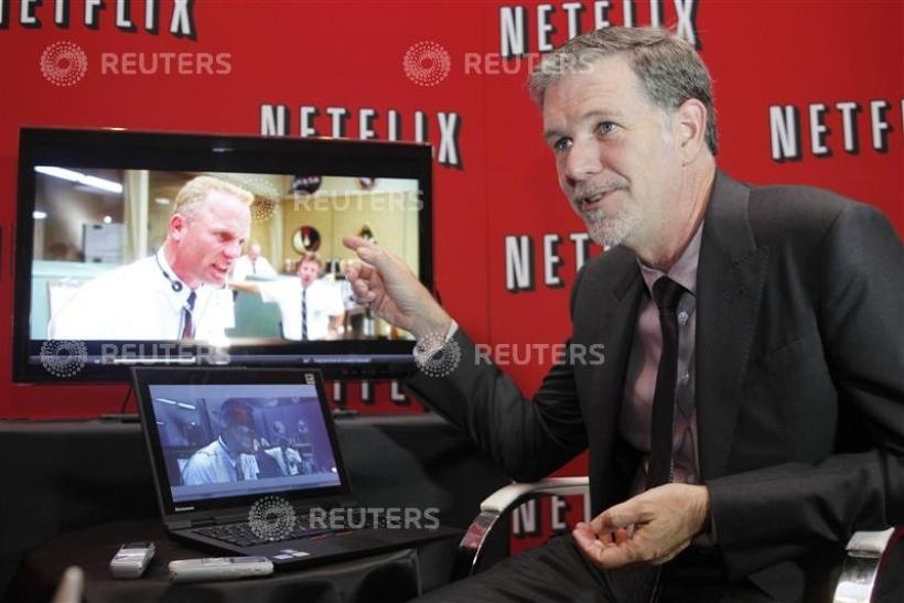 Reed Hastings has angered Netflix customers twice this summer, raising prices and splitting off the two services. He hopes to regain favor by signing Dreamworks.