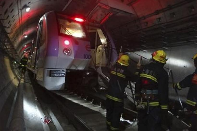 Shanghai subway trains collide injuring more than 270
