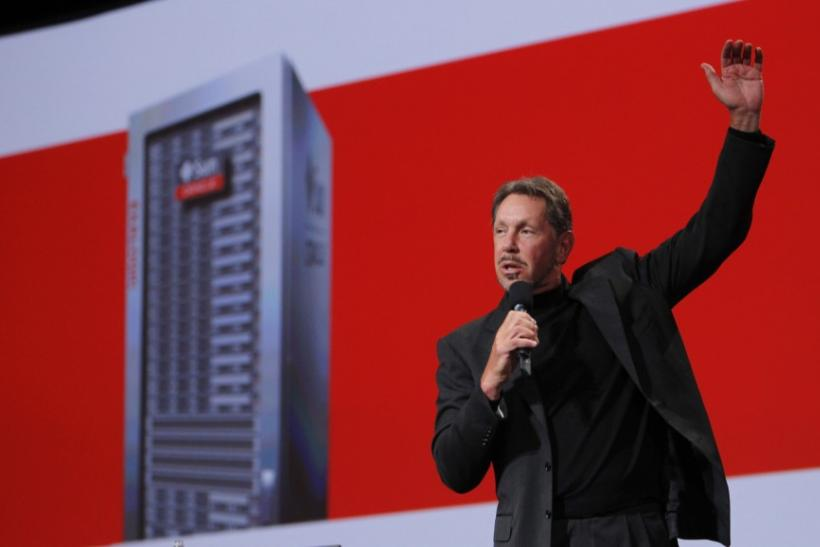 Oracle CEO Larry Ellison