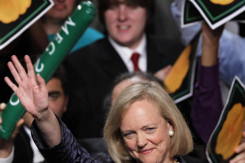 Hwelett-Packard CEO Meg Whitman