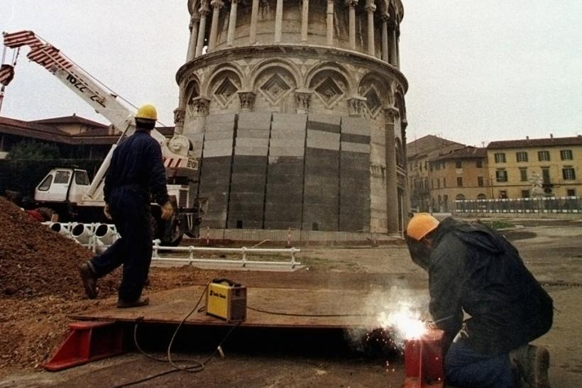 Tower of Pisa repair