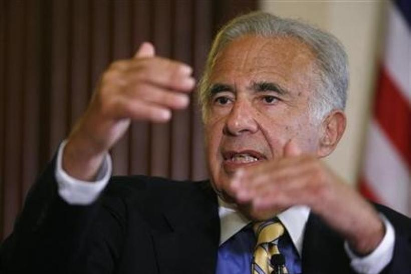 RIM shares jump on Icahn stake talk