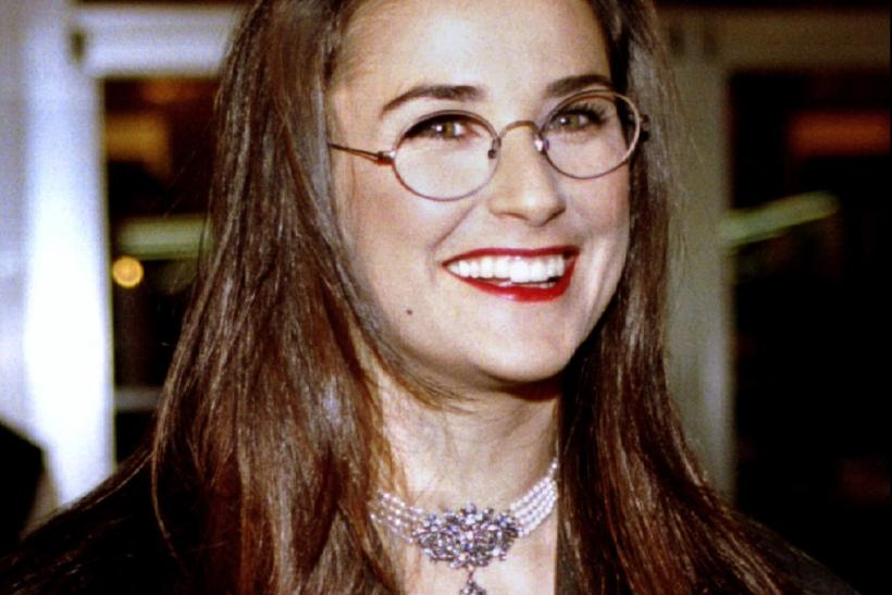 Actress Demi Moore arrives at the Uptown Theatre in Washington November 30.