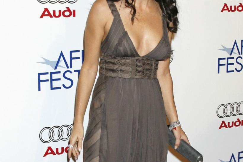 "Actress Demi Moore arrives at the opening night gala of the AFI Fest and US premiere of the film ""Bobby"" in Hollywood"