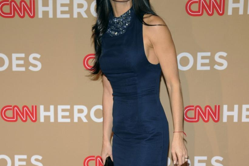 "Actress Demi Moore attends the ""CNN Heroes: An All-Star Tribute"" in Los Angeles"