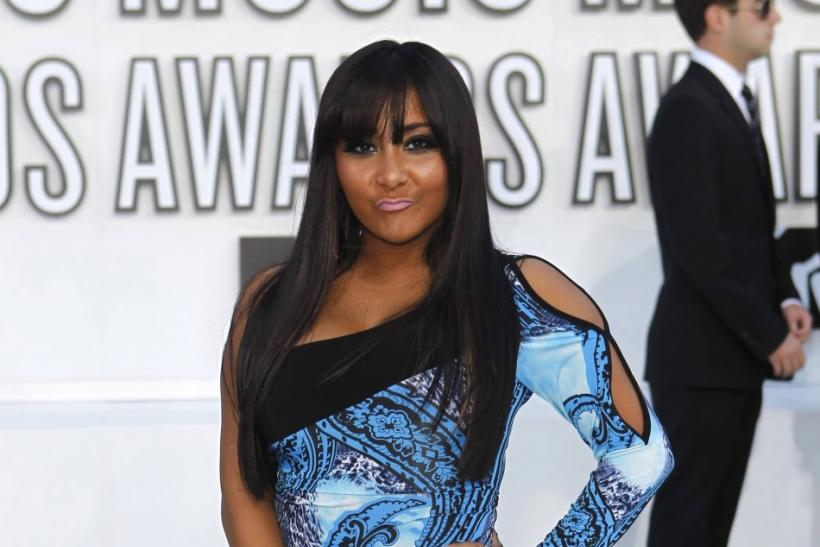 "Nicole ""Snooki"" Polizzi, from the MTV reality show 'Jersey Shore,' arrives at the 2010 MTV Video Music Awards in Los Angeles, California, September 12, 2010."