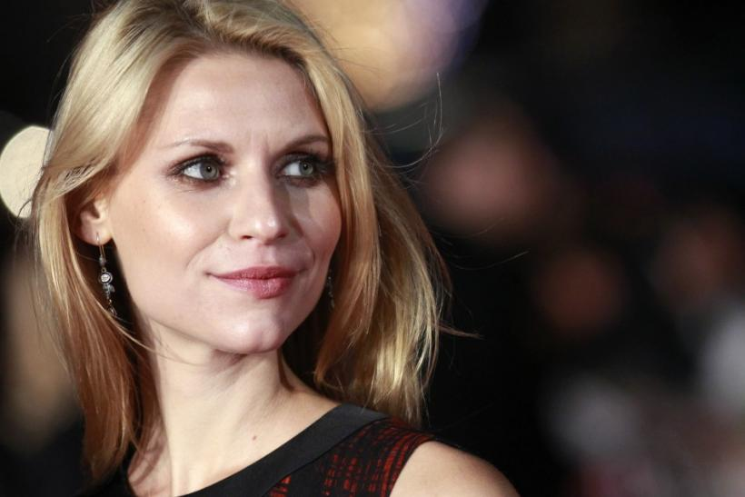 "Actress Claire Danes poses on the red carpet before the European premiere of ""The King's Speech"" in Leicester Square"
