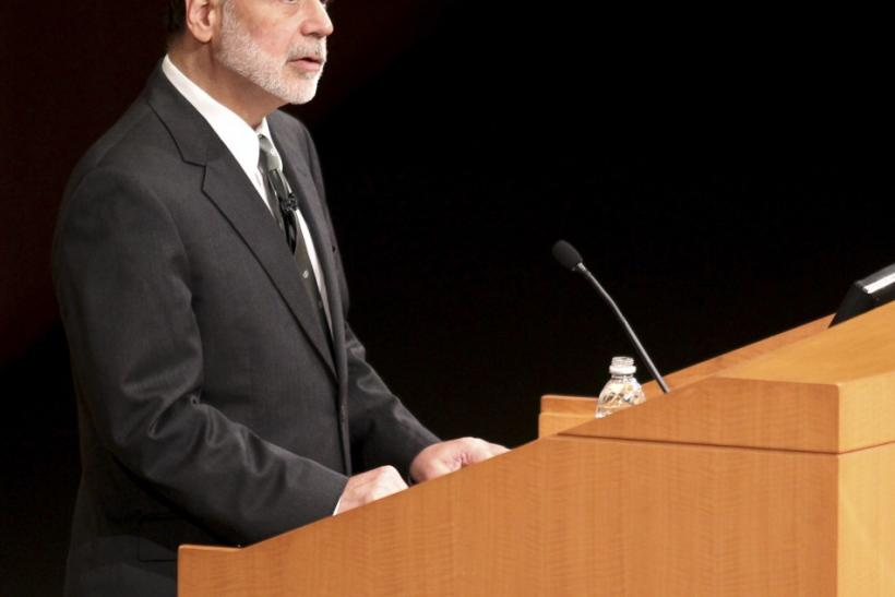"Ben Bernanke, Federal Reserve Bank Chairman, speaks at the Cleveland Clinic ""Ideas for Tomorrow"" series in Cleveland"