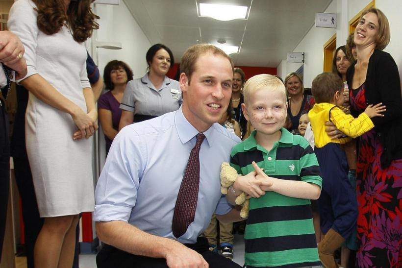 Kate Middleton & Prince William Open Cancer Unit