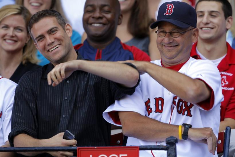 Theo Epstein and Terry Francona