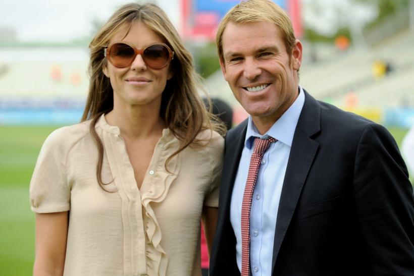 Elizabeth Hurley Engaged to Shane Warne