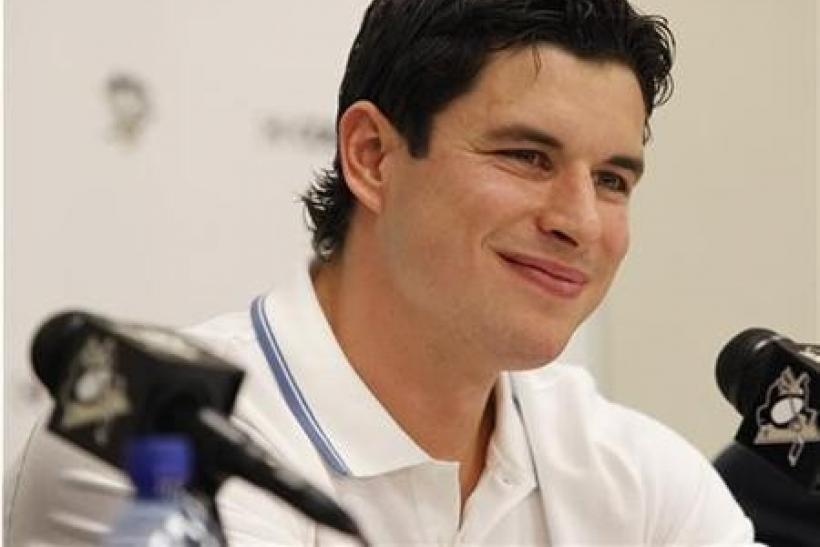 Pittsburgh Penguins' Sidney Crosby