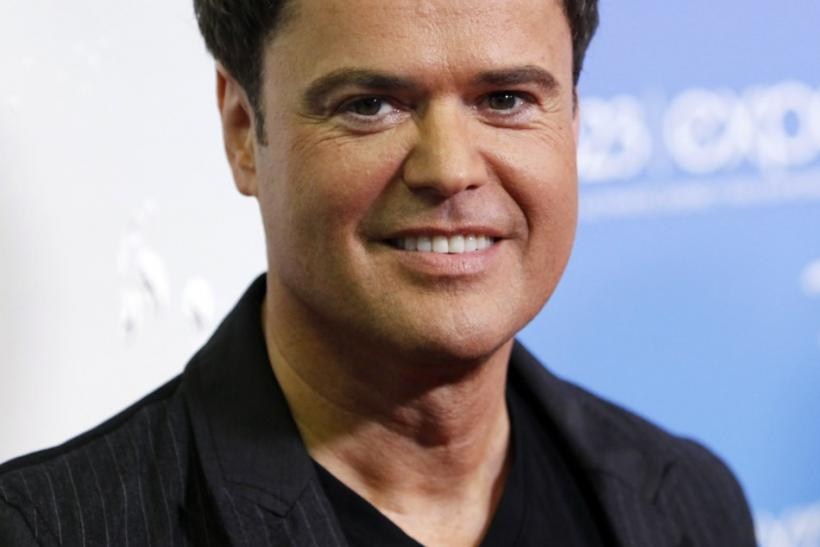 Donny Osmond in Anaheim