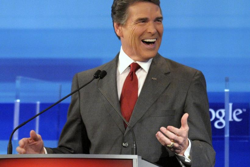 Rick Perry at Debate
