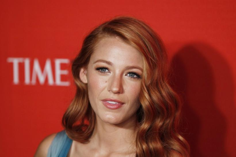 Actress Blake Lively arrives to be honored at the 2011 Time 100 Gala ceremony in New York