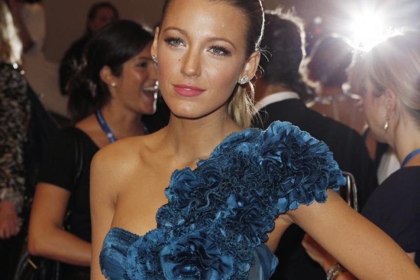 Actress Blake Lively arrives at the Metropolitan Museum of Art Costume Institute Benefit in New York