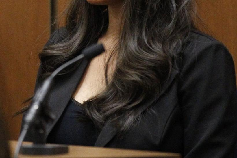 Prosecution witness Bella testifies during Dr. Conrad Murray's trial in the death of pop star Michael Jackson in Los Angeles