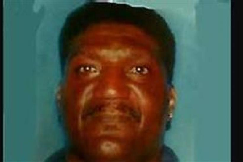Shareef Allman, a 45-year-old male suspect in a shooting in Cupertino, California in which two people were killed and at least six others wounded, at a cement plant is shown in this undated photograph released to Reuters by KTVU-TV
