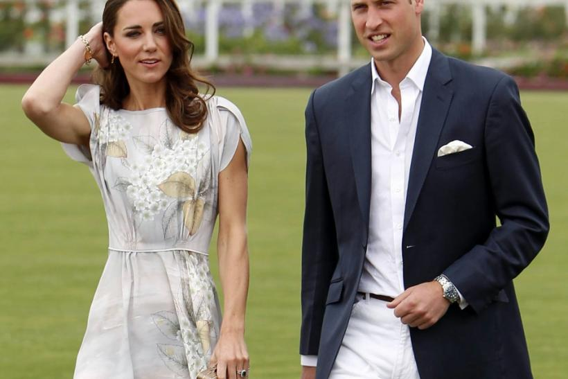 Kate and Will Dressed to Impress