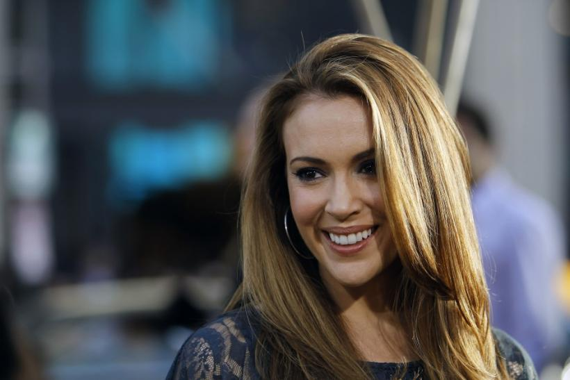 Actress Alyssa Milano