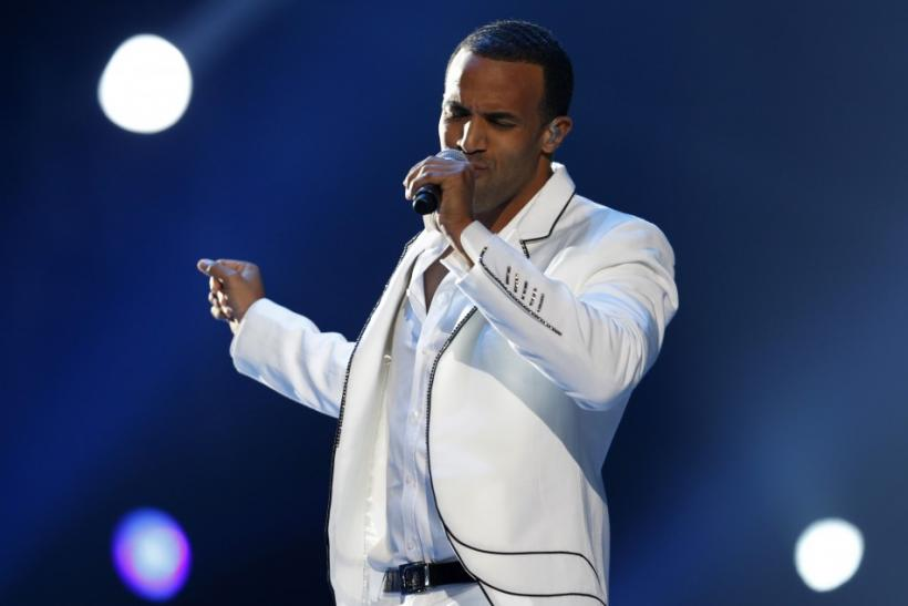 "Craig David performs during the ""Michael Forever"" tribute concert, which honours late pop icon Michael Jackson, at the Millennium Stadium in Cardiff, Wales"