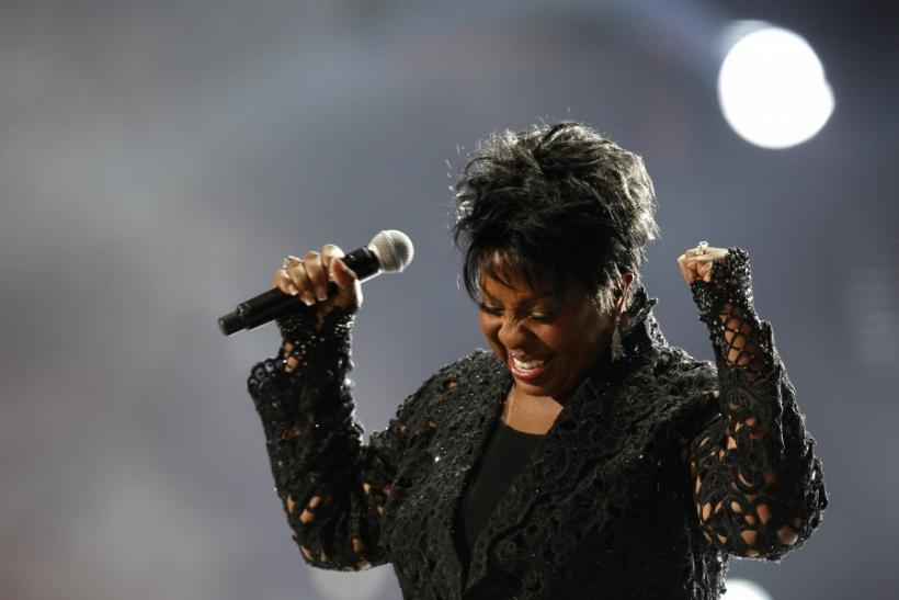 "Gladys Knight performs during the ""Michael Forever"" tribute concert, which honours late pop icon Michael Jackson, at the Millennium Stadium in Cardiff, Wales"