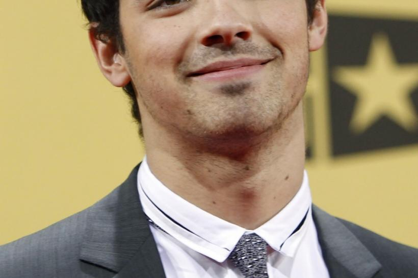 Joe Jonas in 2010.