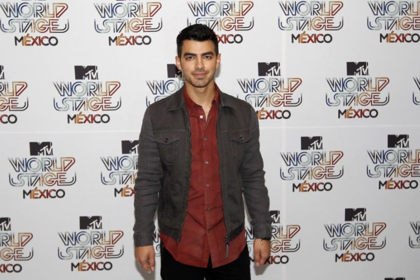 Joe Jonas in Aug. 2011.