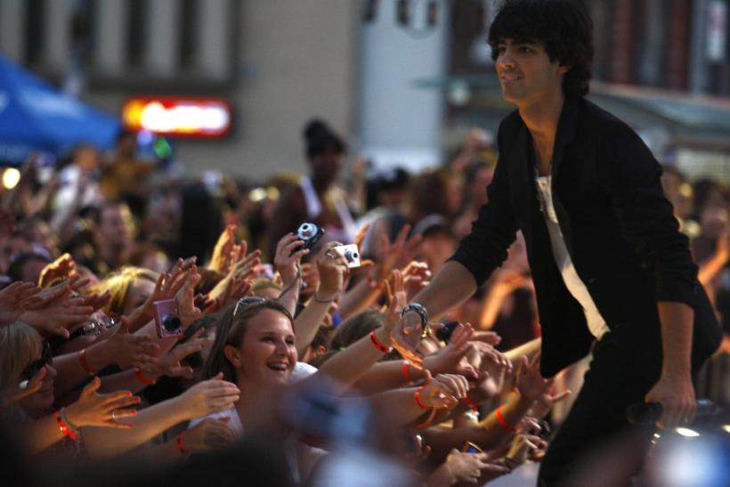 Joe Jonas in 2009.