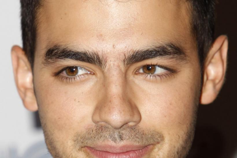 Singer Joe Jonas.