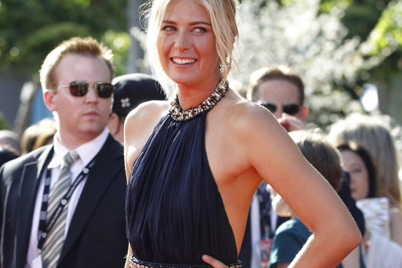 Six feet tall, well build blonde, Maria Sharapova began at the age of 14. In 2004 She dazzled the tennis fraternity by defeating world champion Serena Williams in the singles finals.