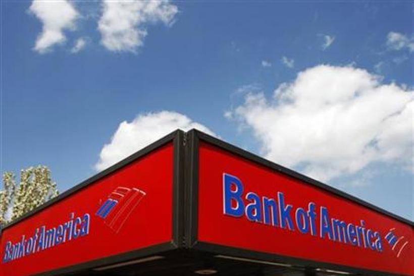 A Bank of America ATM location