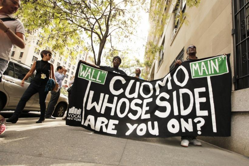 Occupy Wall Street Moves Uptown