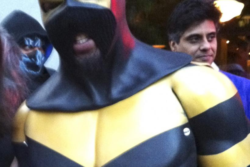 Self-proclaimed Seattle superhero Phoenix Jones