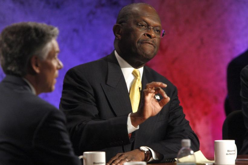 Herman Cain at Dartmouth Debate