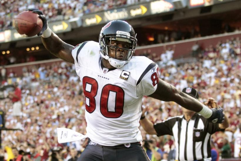 Houston Texans franchise wide receiver Andre Johnson will miss his sixth straight game because he is still recovering from a right hamstring injury.