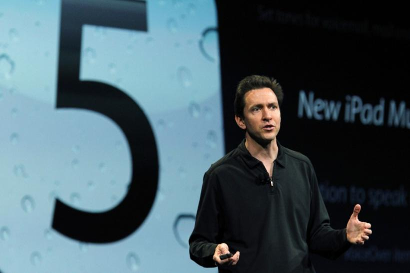 Apple VP of iPhone Software Scott Forstall