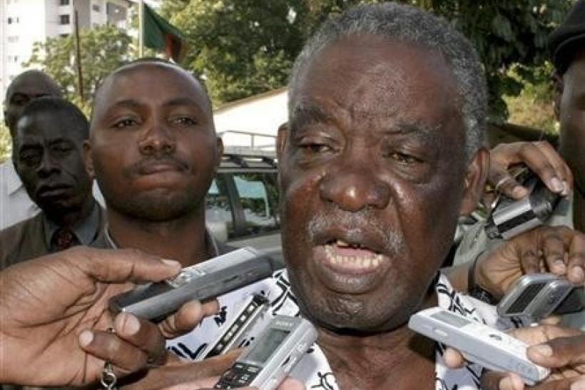 File photo of Zambian President Michael Sata.