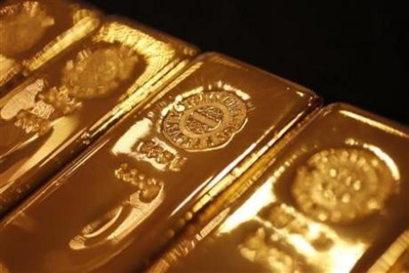 Gold eyes biggest gain in 6 weeks on Europe hopes