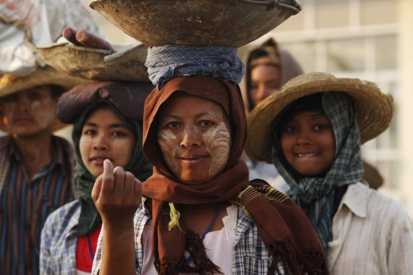 Burma allows the formation of labor unions and the right of workers to strike.