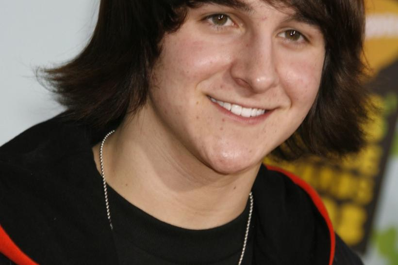 Actor Mitchel Musso.