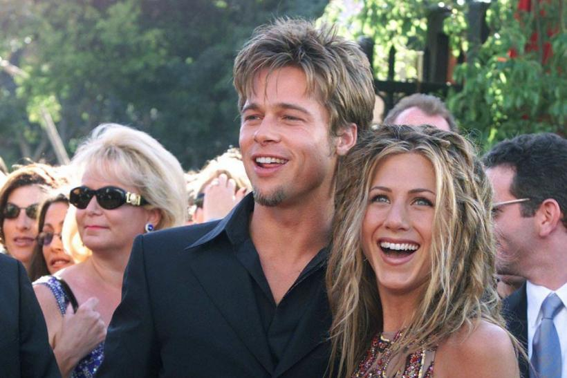 Jennifer Aniston and ex-husbdand Brad Pitt