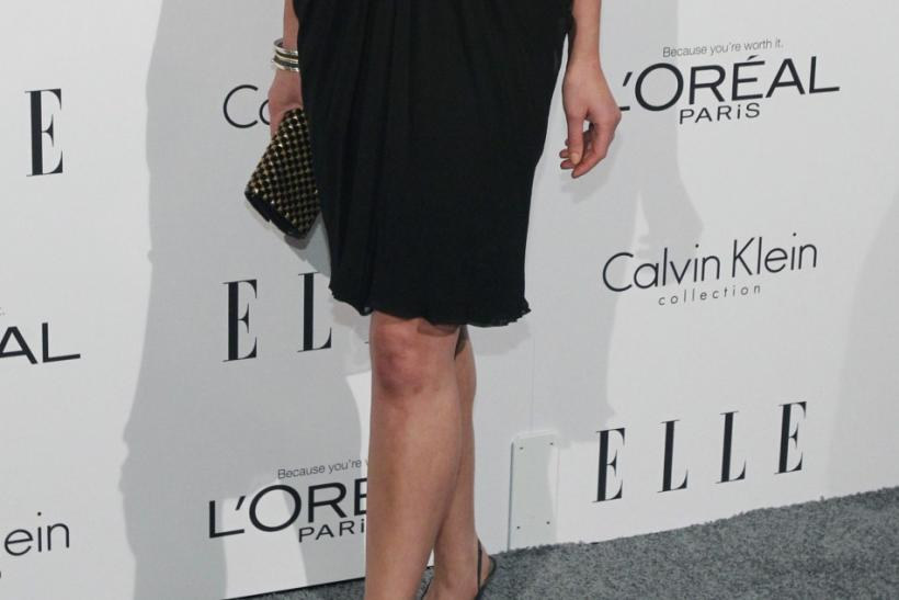 Actress Katherine Heigl poses at Elle's 18th Annual Women in Hollywood Tribute in Los Angeles