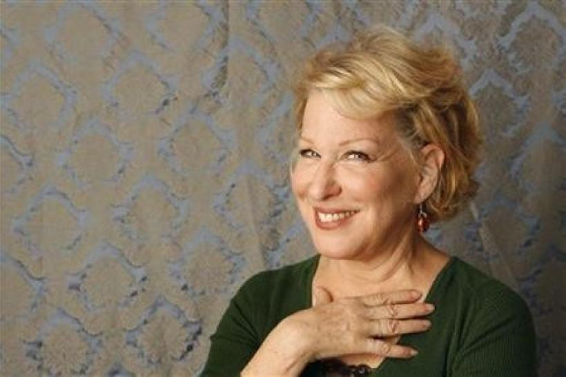 Actress Bette Midler poses for a portrait during a media day promoting the film ''Then She Found Me'' in New York