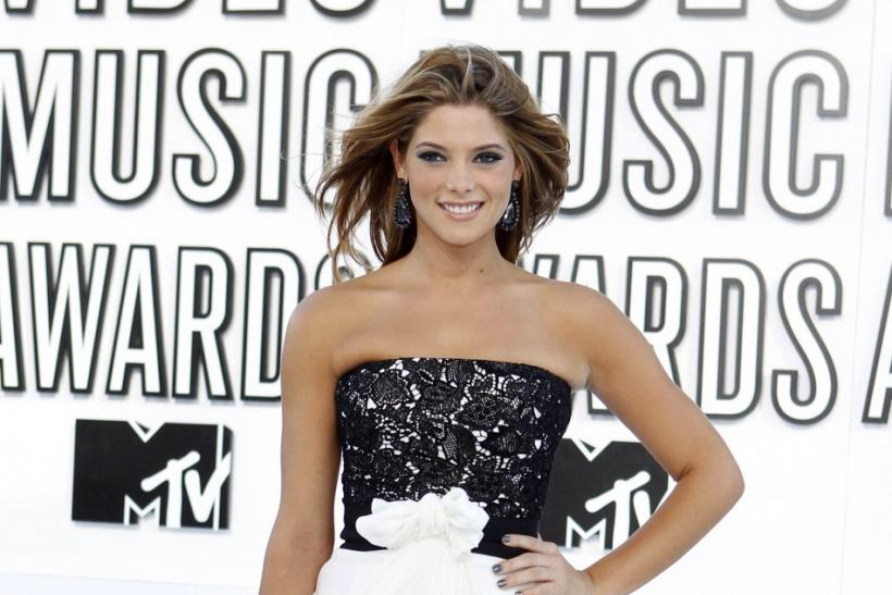 Ashley Greene arrives at the 2010 MTV Video Music Awards in Los Angeles, California