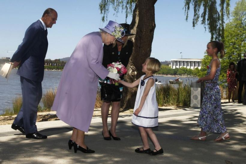 Day 2: Queen Elizabeth II in Australia
